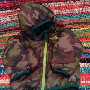 Reversible Infant North Face Puffer